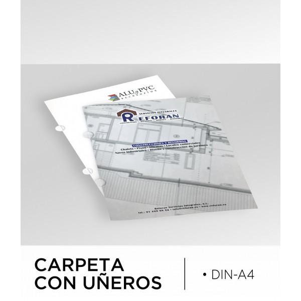 Carpeta con Uñeros