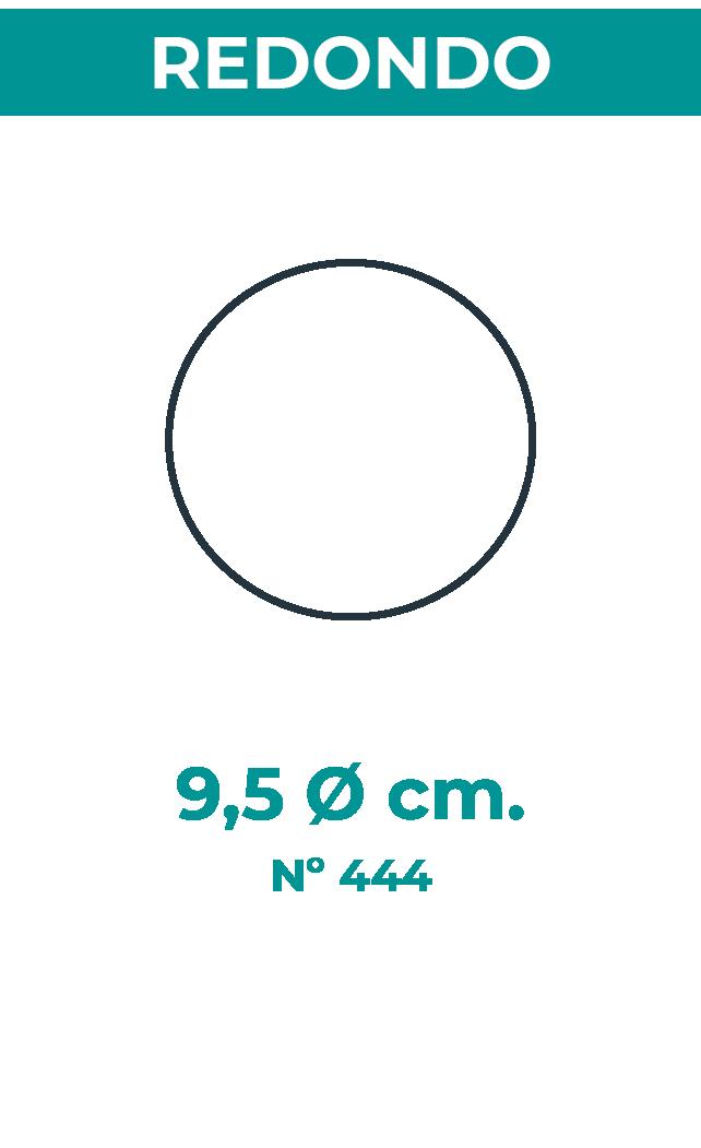 9,5 Ø cm