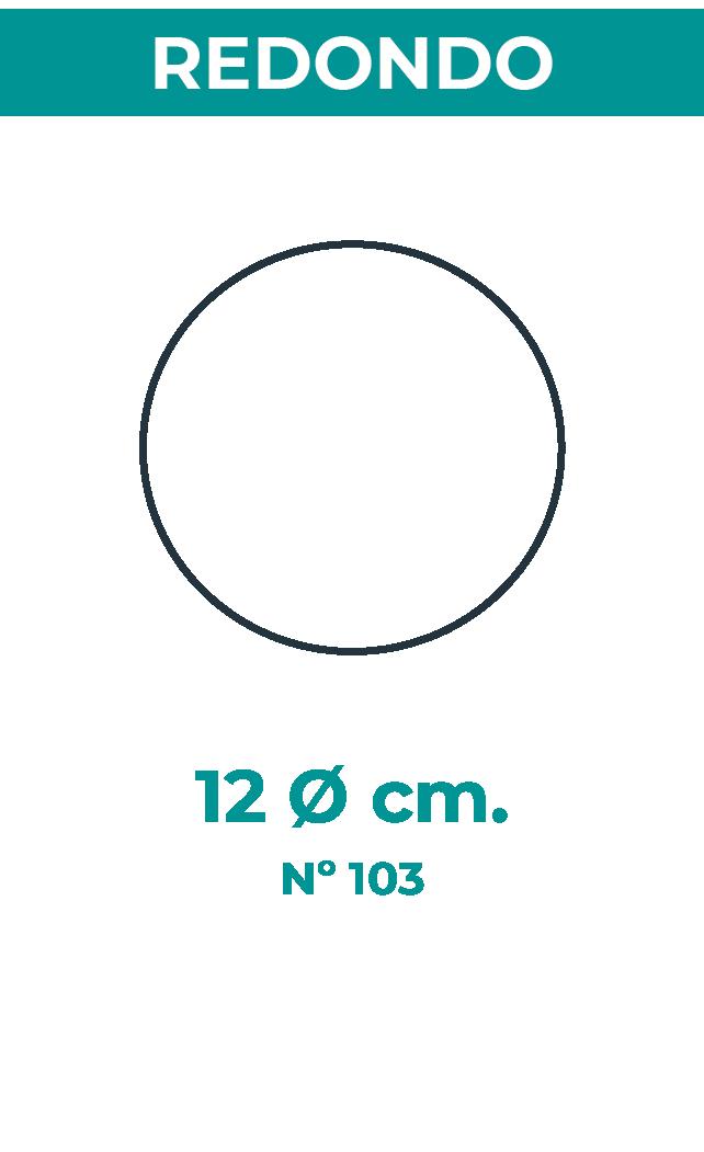 12 Ø cm