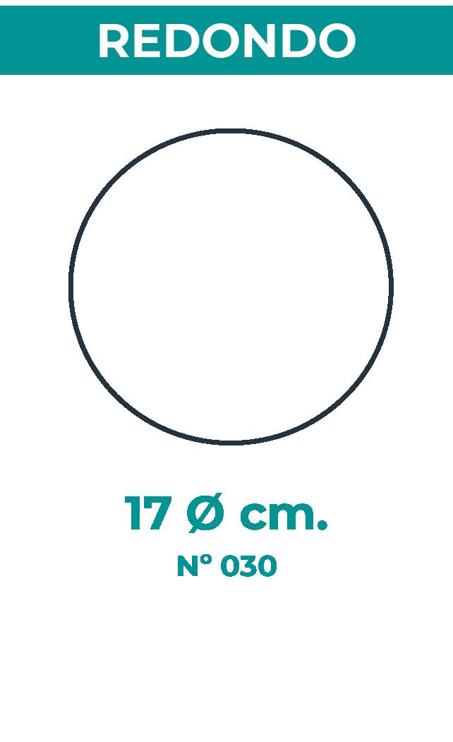 17 Ø cm