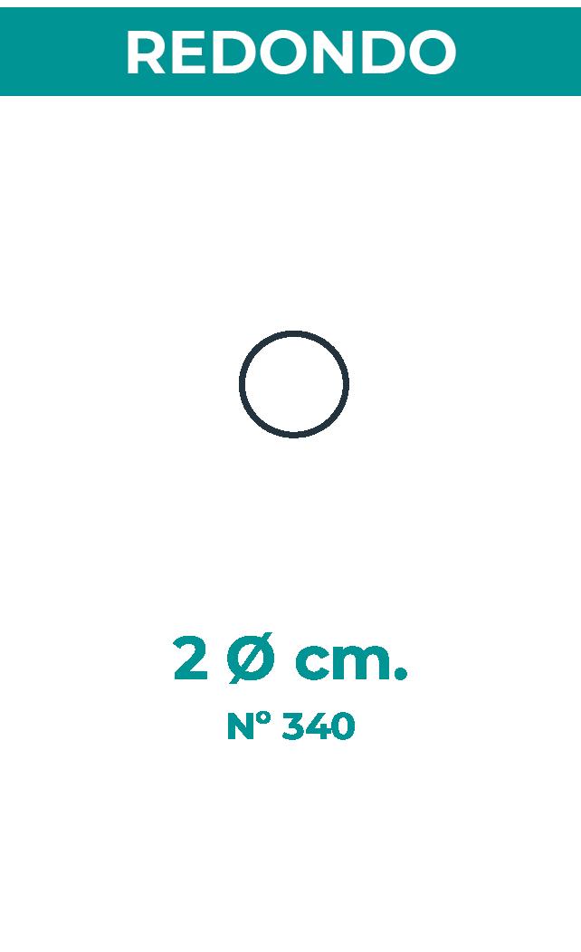 2 Ø cm