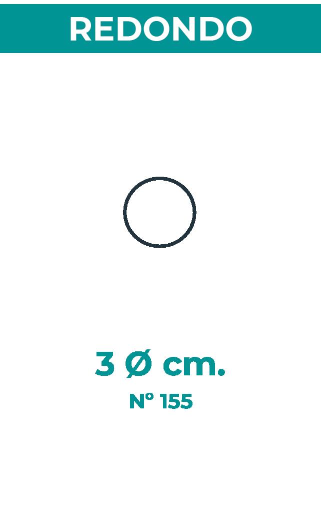 3 Ø cm