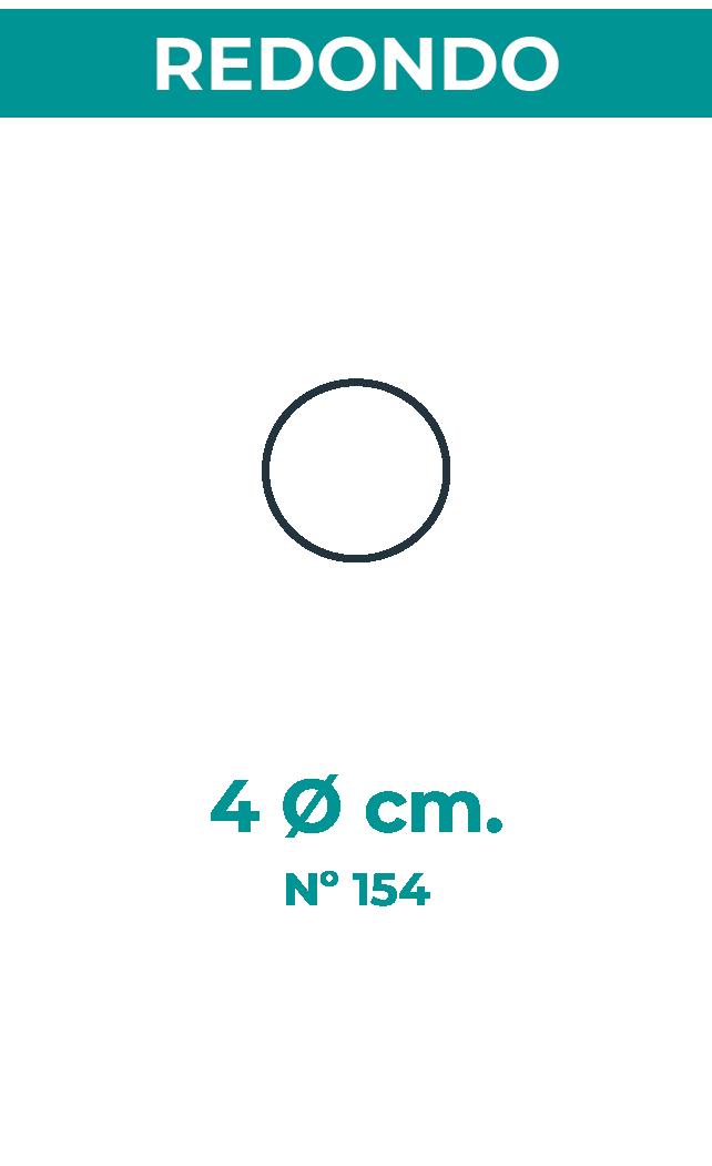 4 Ø cm