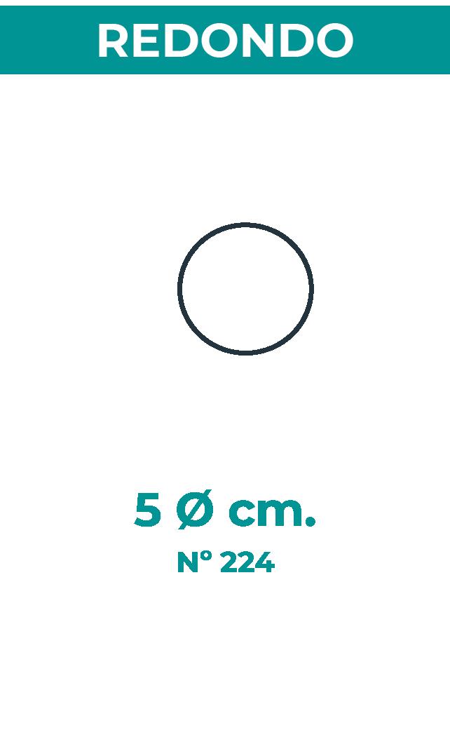 5 Ø cm