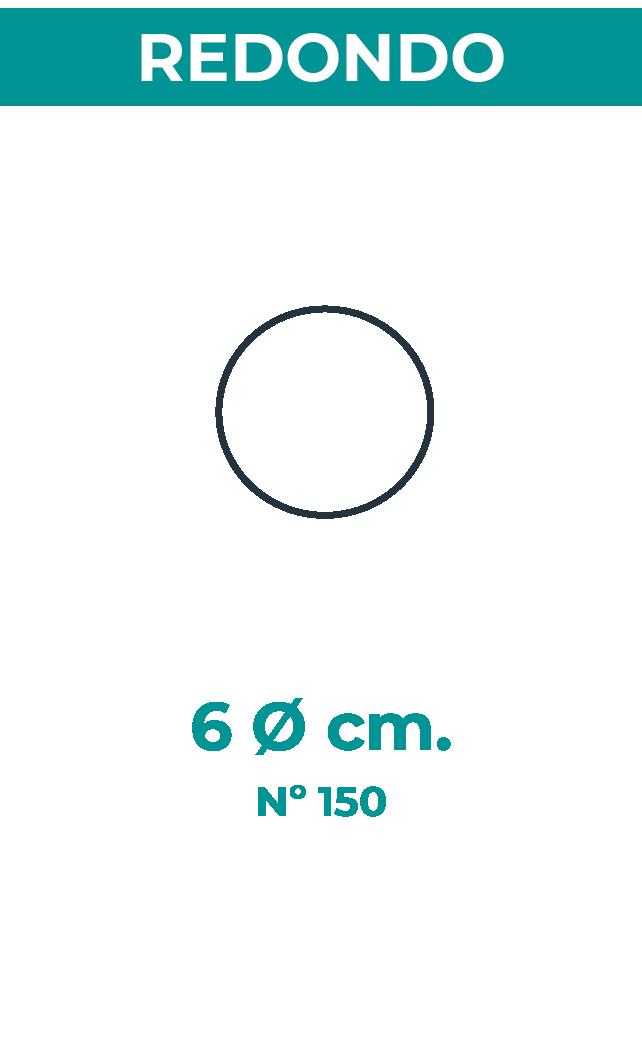 6 Ø cm