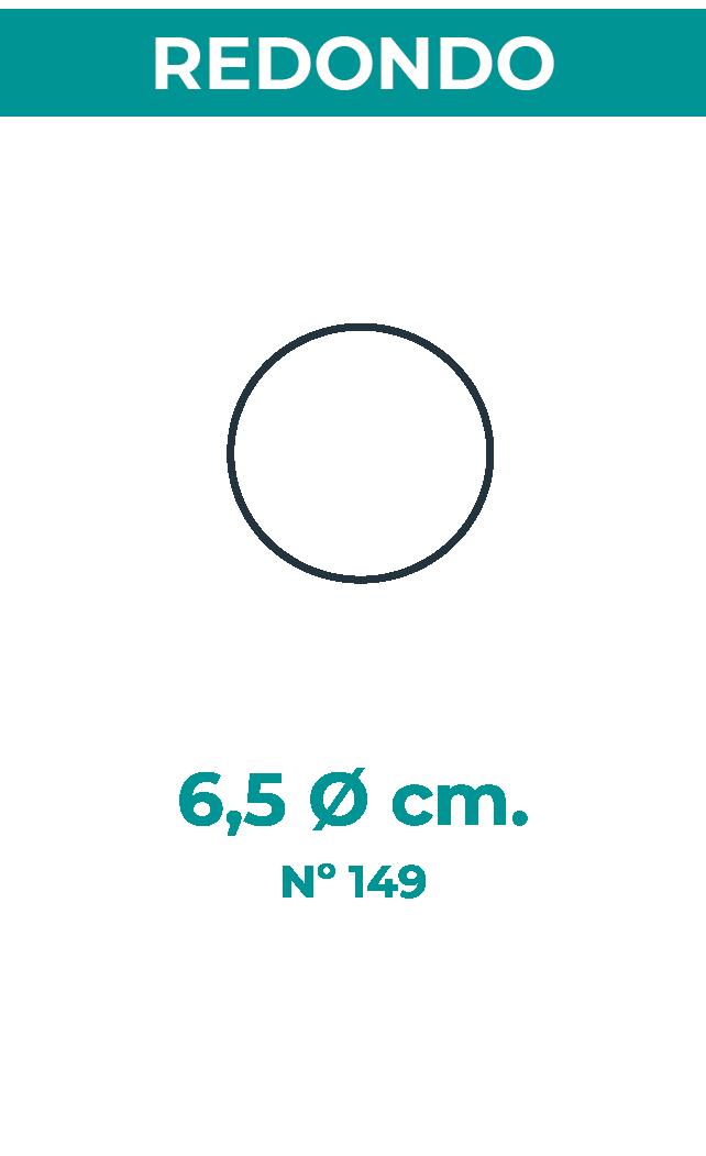 6,5 Ø cm
