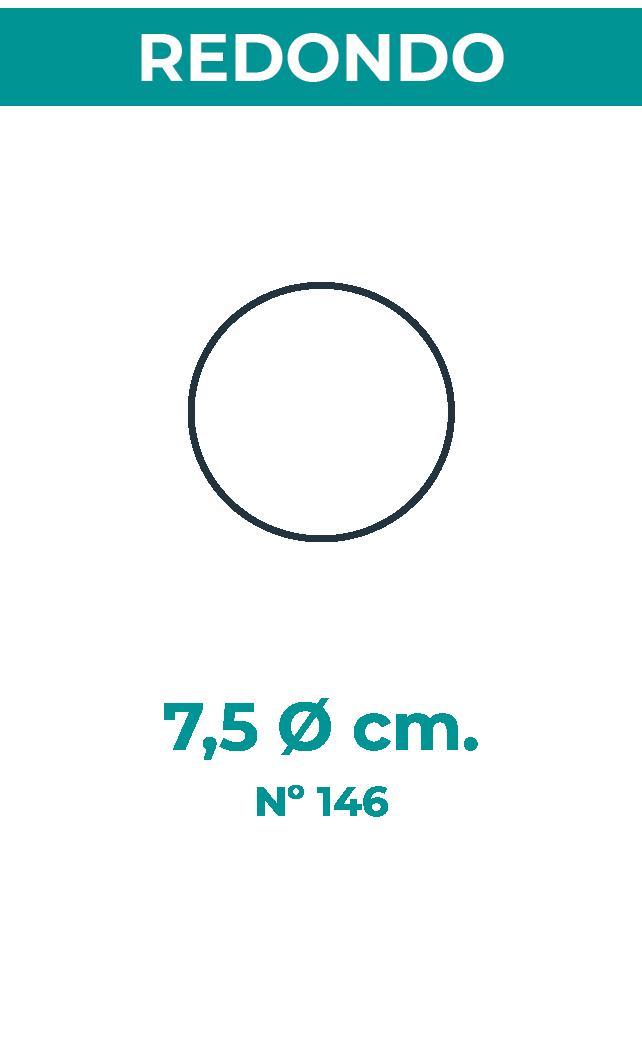 7,5 Ø cm