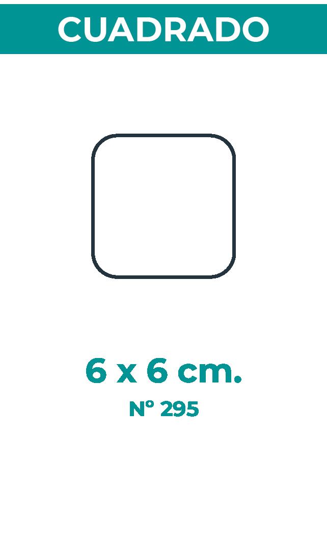 6 X 6 CM