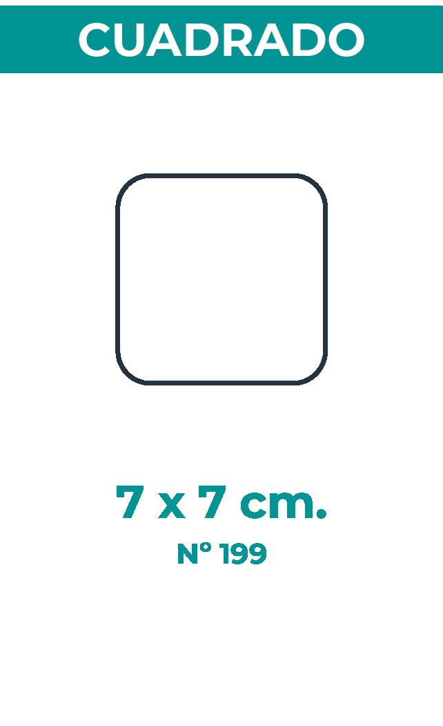 7 X 7 CM