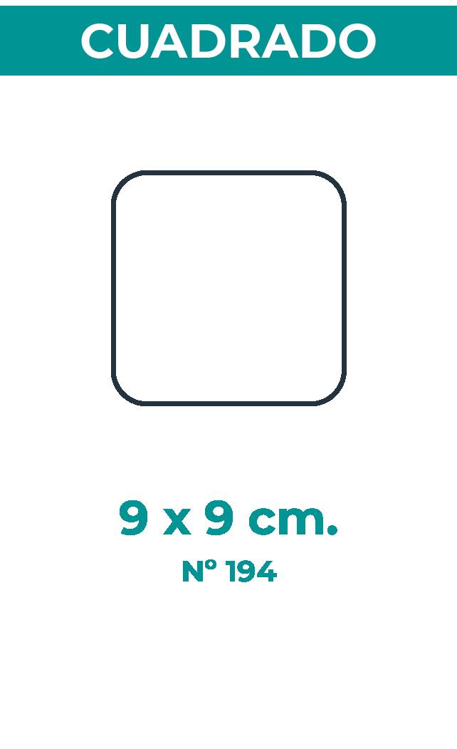 9 X 9 CM