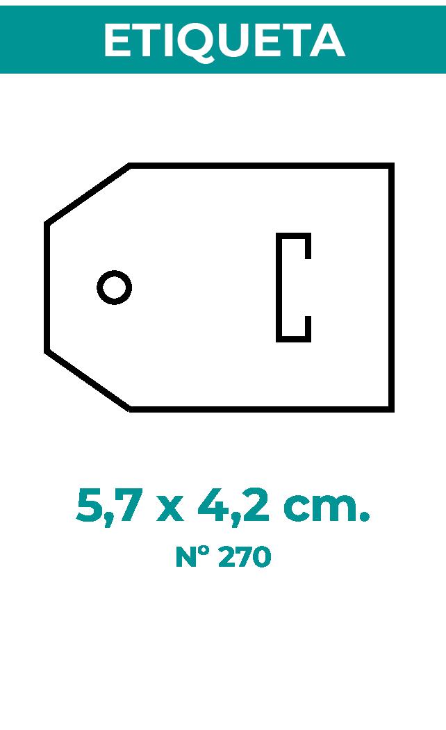 5,7 x 4,2 cm
