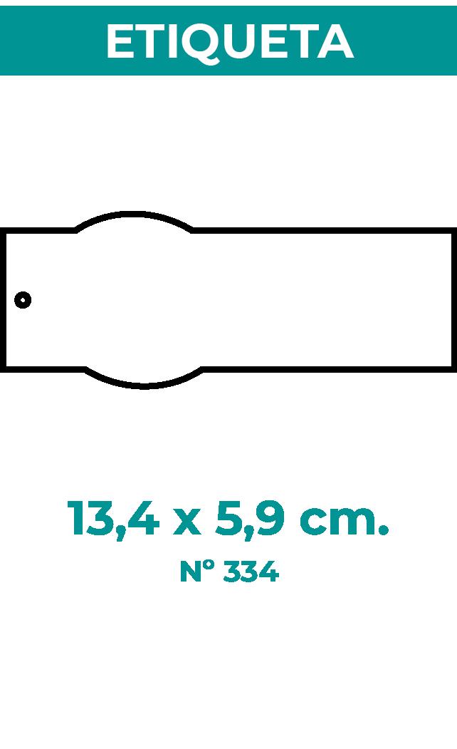 13,4 x 5,9 cm