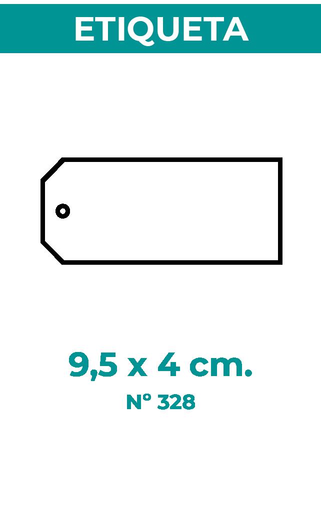 9,5 x 4 cm
