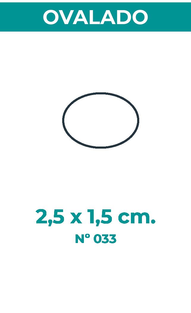 2,5 X 1,5 CM