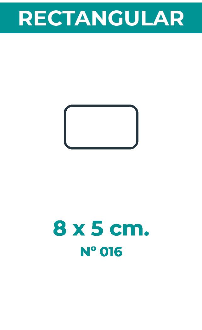 8 x 5 cm