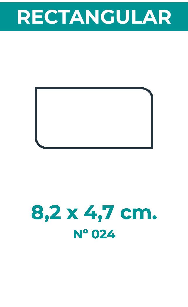 8,2 x 4,7 cm