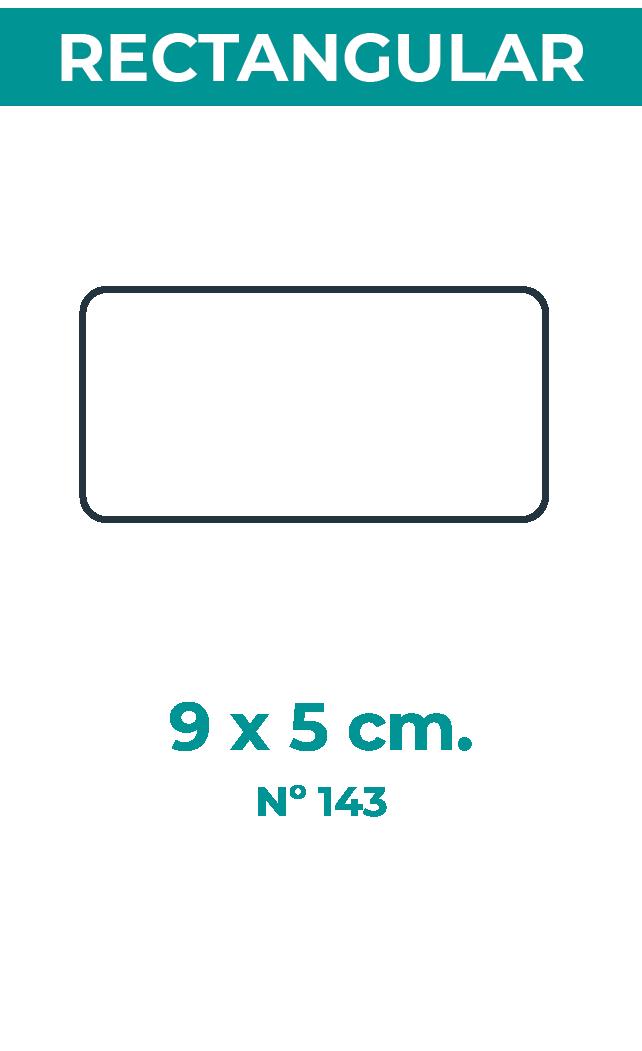 9 x 5 cm
