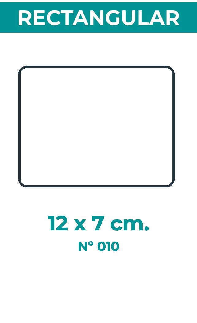 12 x 7 cm
