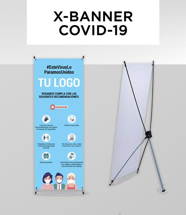 X Banner Covid