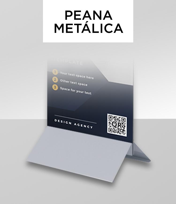 Peana metálica