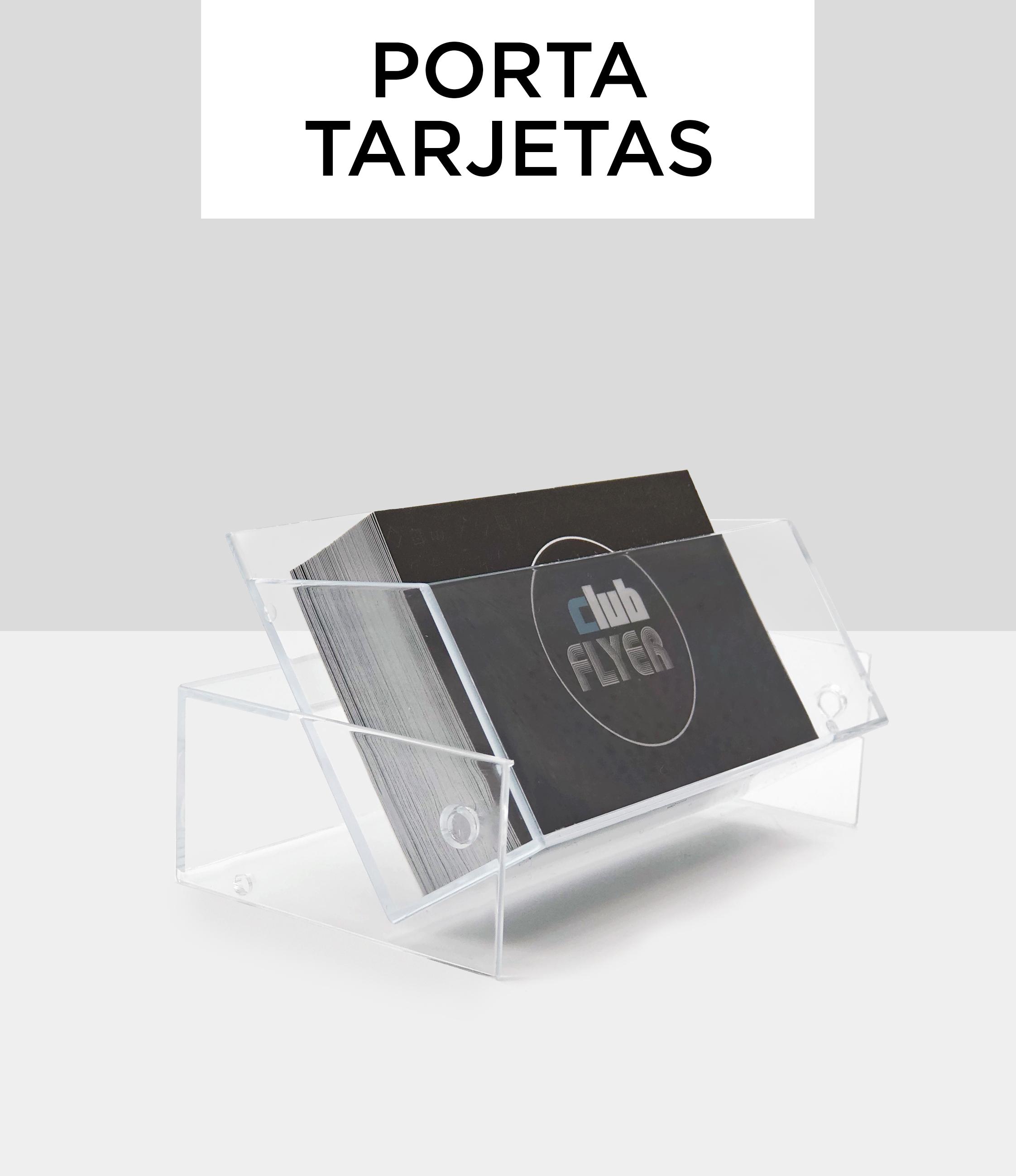 Porta tarjetas de visita