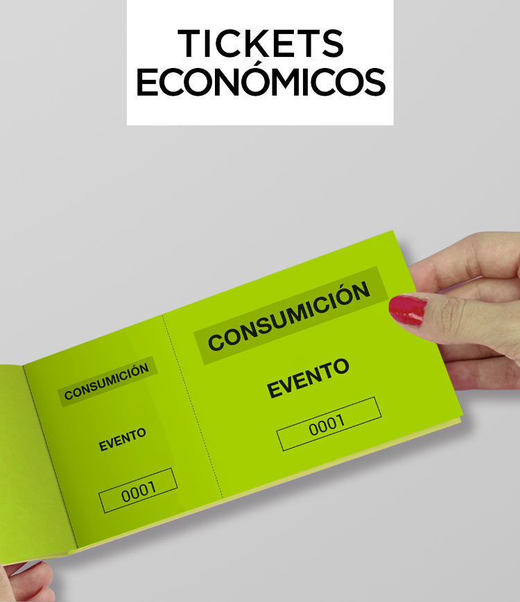 Tickets economicos