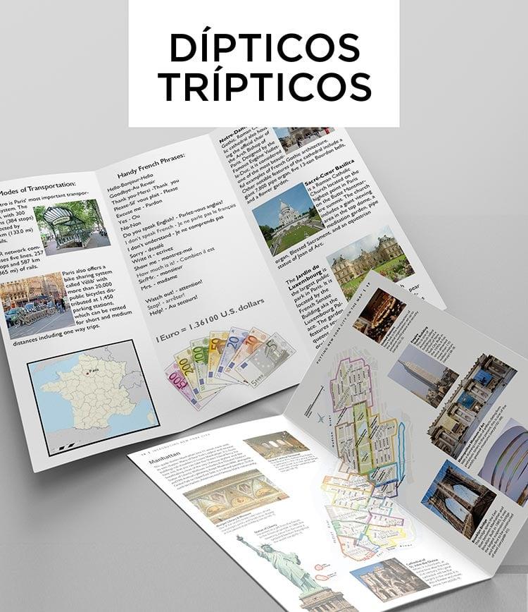 Dípticos / Trípticos