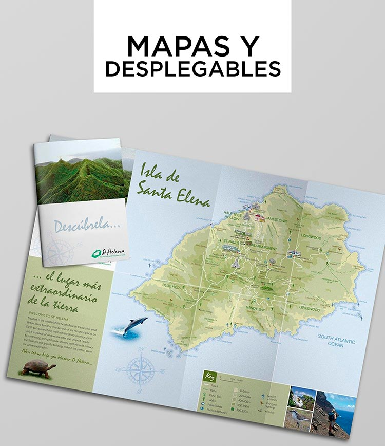 Mapas y Desplegables