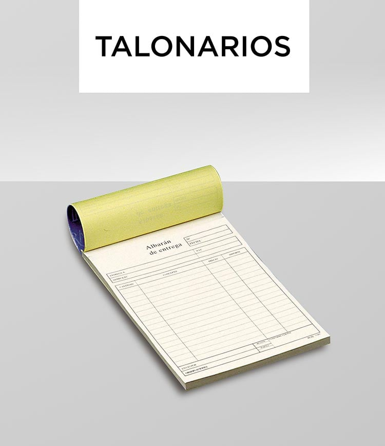 Talonarios